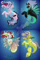 MerPony Sheet 1 [OPEN!] 3 LEFT by Rems-Adoptables