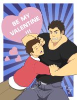 Scott Pilgrim Valentine Card 3 by Dragon2524