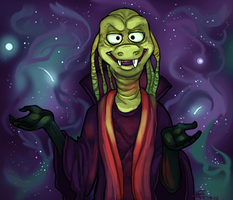 Ziltoid the Omniscient by Spartan-Cheetah