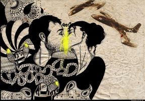 french kiss by butterfly-cool
