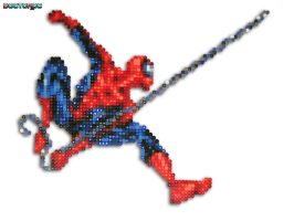 Spider Man Bead Sprite by DrOctoroc