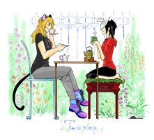 TEA TIME by Autumn123Charlotte