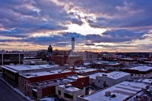Greensboro from the Deck by jplaut92