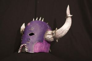 Warhammer chosen of Slaanesh Helmet by BIGBUBBASSTUFF