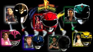 MMPR Helmet Wallpaper by scottasl