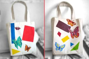 Butterfly Tote Bag by aneesah