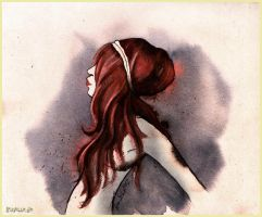 Redhead by Iraville
