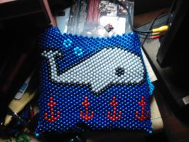 Whale bag (back) by DINOCATCREATIONS