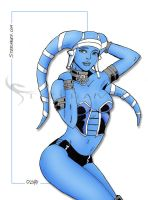 Blue Twilek by SteelhavenStudio