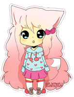 Chibi COM: Cookie-Chuu by MechanicMocha