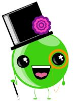 Mr. Monocle Pea by picklenation