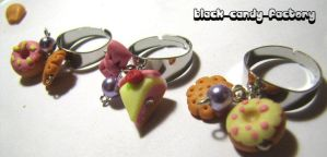 Cute yummy rings by gothic-yuna