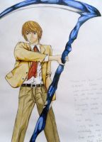 Light Yagami - Shinigami by ConfuzzledEmu