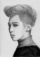 G-Dragon fanart VOGUE by lera-park