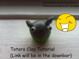 Totoro Cupcake Tutorial by UnicornCharms