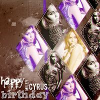+Happy Birthday Miley by iohdrop2
