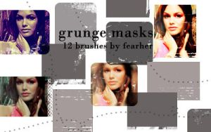 Grunge Masks by fearher