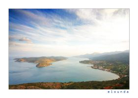 the elounda gulf _ Crete by styliano