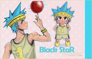 BlackStar:basketball time1: xD by ibl00d