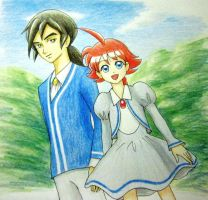 Fakir and Ahiru by Chips13