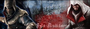 Signature: Young And Old Ezio Auditore by zankax-x