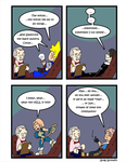 Final Fantasy Parody Comic 4 by GalvatronZero