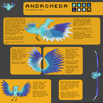 Celestial bird reference (HATCHED!) by Reynbanker