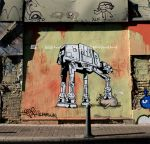 AT-AT Murales by sozahh