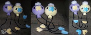 Shiny Drifloon-drifloon plush by YutakaYumi