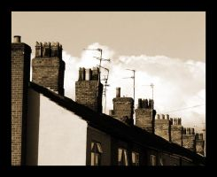 Rooftops and Chimneys by NeoPiter