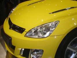 Opel GT2 at the AutoRAI 2007 by dj-voyager