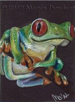 Treefrog by WitchiArt