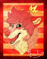 Headshot for PARADlSE by Rainbow-Foxy