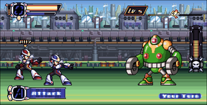 RockMan X Over - mockshot by Pixelated-Dude
