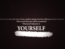 What You'll Find Is Yourself by 1JesusOfSuburbia