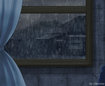 It's raining in Juvia's heart3 by Chsabina