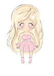 Chibi Pink by Cevana