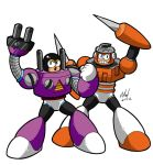 Plug man and Spark Man by Thormeister