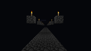 Minecraft Endless road by presentlydead