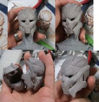 Turian BJD head 2 by batchix