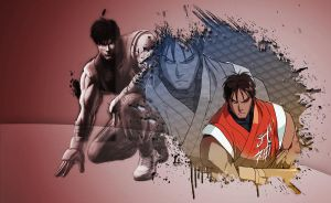 SSF4 Guy - Wallpaper by Dark-Rizzi