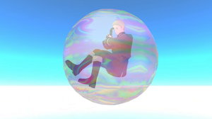 MMD - A german in the bubble by emmystar
