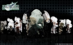FFVII Advent Chldren wallpaper by Mixer3d