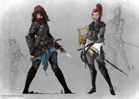 Pathfinder - Inner Sea NPCs by TimKings-Lynne