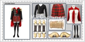 Final Fantasy Type 0 Sice Cosplay Costume by miccostumes