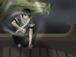 Dragon Tamer - Shino by xYorutenshi