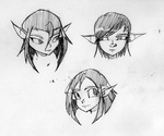 Elf Heads by G4MM43T4