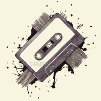 Cassette Tape by onecuriouschip