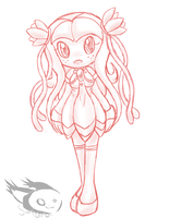 concept sketch. :Seedrian: by Peridotty