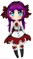 Chibi Mikomi Dress [Simple Shading] by MikomiKisomi